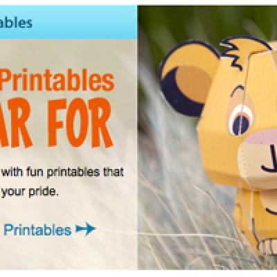 Disney Printables