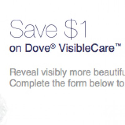 Dove Body Wash Coupon