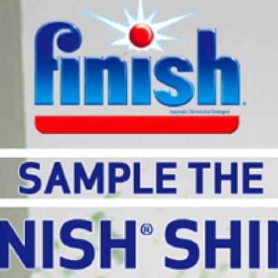 Finish Jet Dry Sample on Facebook