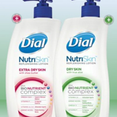 Dial Lotion Free Sample
