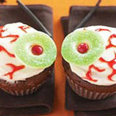 """Eyeball"" Cupcake Recipe"