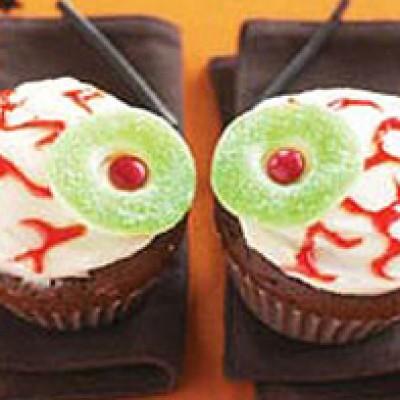 """Eyeball"" Cupcake Recipe"