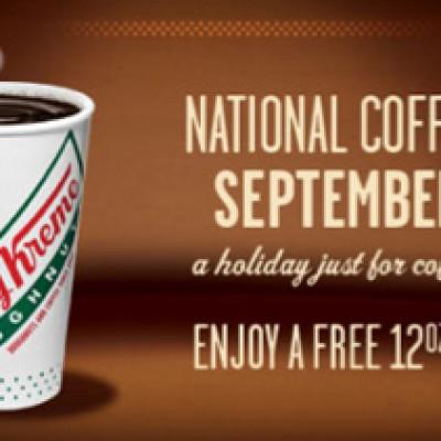 Free Krispy Kreme Coffee:  Today Only!