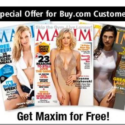 Free Maxim Magazine Subscription