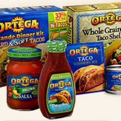 Save $1.00 on Ortega Products