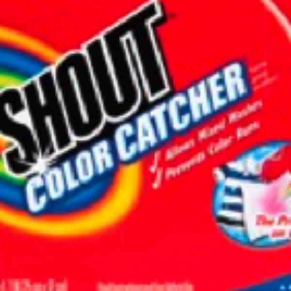Shout Color Catcher Free Offer