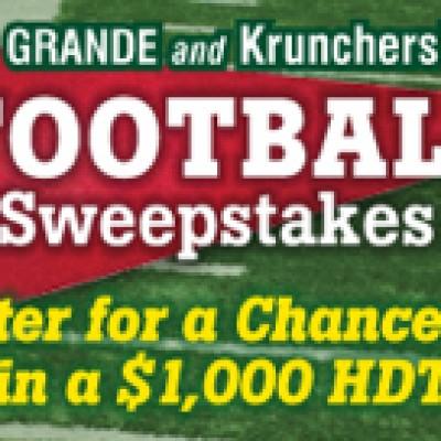 Grande/Kruncher Football Sweepstakes
