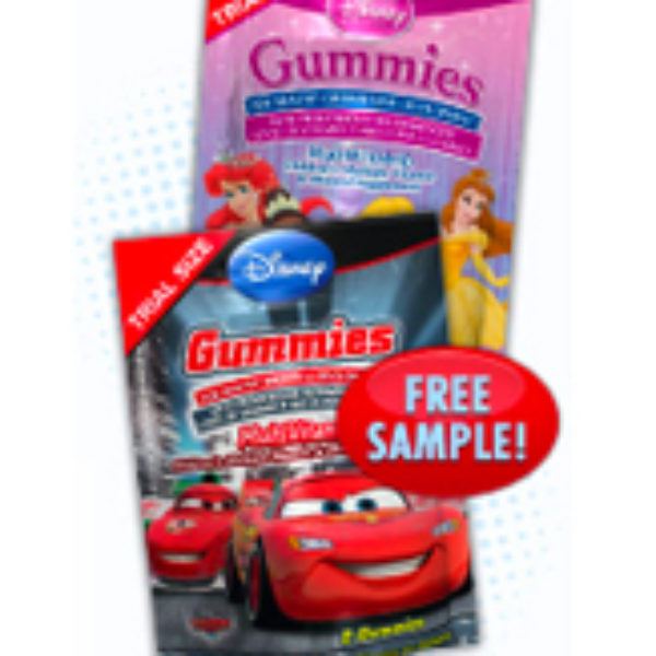 Disney Character Gummys Free Sample
