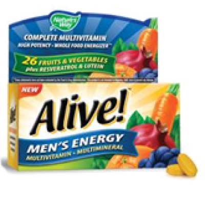 Alive! Men's Energy Multivitamin Coupon