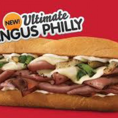 """Free Arbys """"New"""" Angus Philly  (Facebook)"""