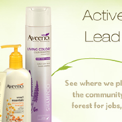 Thanks from Aveeno:  Free Sample Living Color