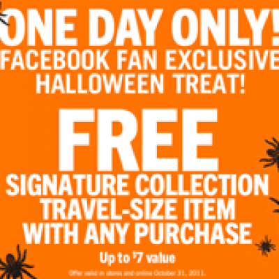 Free Signature Collection at Bath & Body Works