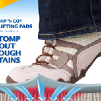 Bissell Stomp 'N Go Pads Coupons