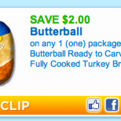 Butterball Ready to Carve Turkey Coupon