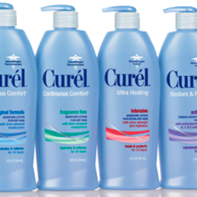 Save $1.00 on Curel Skin Care