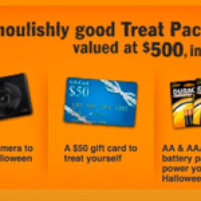 Duracell Treats, No Trick $500 Giveaway