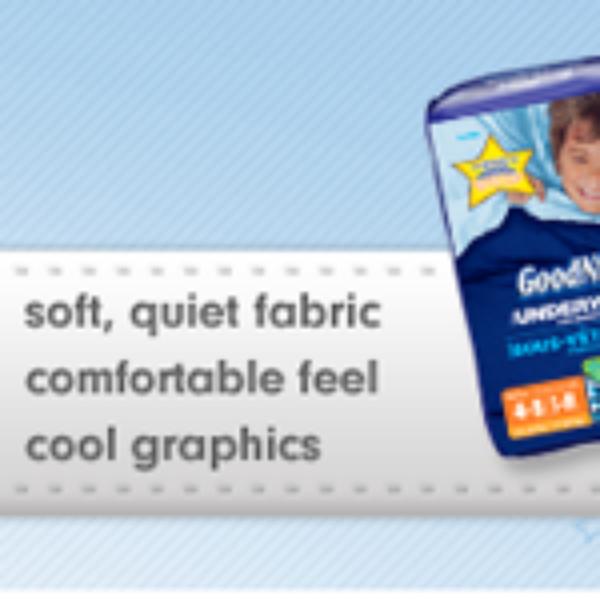 Goodnites Coupon Save $1.00