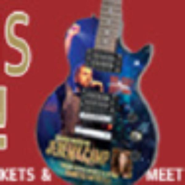Custom Jeremy Camp Guitar Giveaway