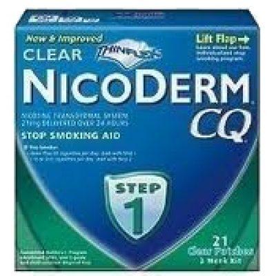Free Sample Patch NicoDerm CQ