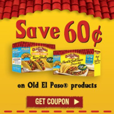 Save $0.60 On Old El Paso Products
