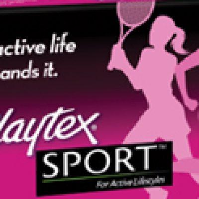 Playtex Sport Tampons Free Sample