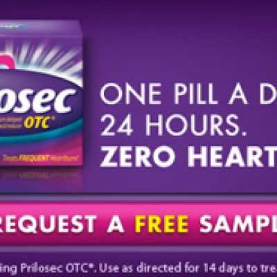 Get Relief With A Free Sample of Prilosec