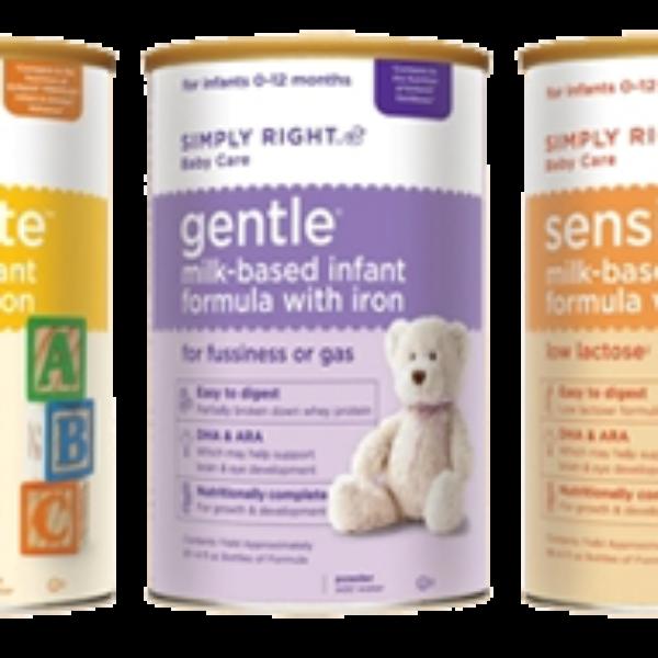 Simply Right Baby Formulas Free Sample