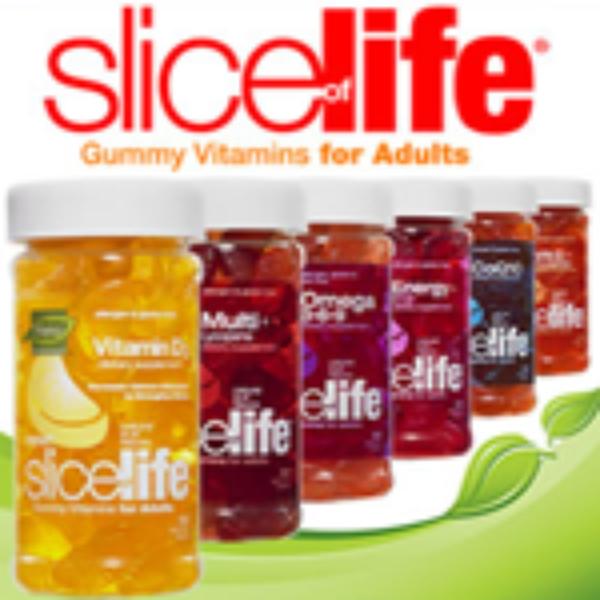 Slice of Life Adult Gummy Vitamins Free Sample