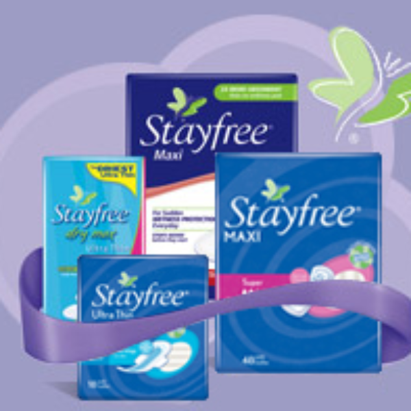 Save $1.00 on StayFree Products