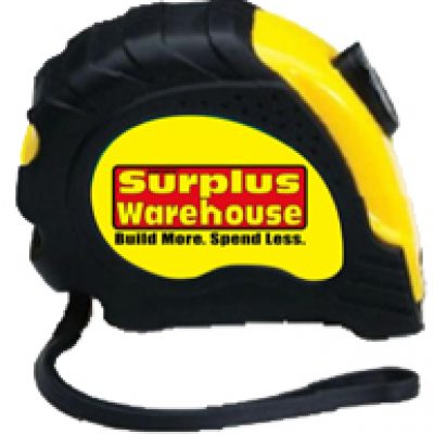 Free 16' Measuring Tape From Surplus Warehouse