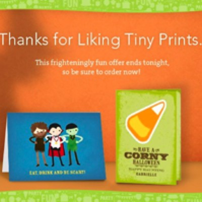Free Halloween Card From Tiny Prints