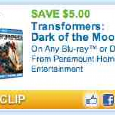 Transformers:  Dark of the Moon Coupon