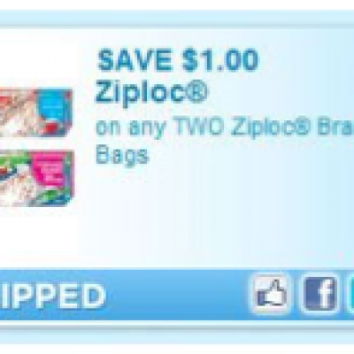 Double Dose of Ziploc Coupons