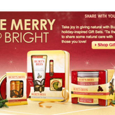Win A Gift From Burts Bees