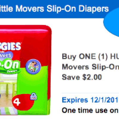Huggies Slip-On Diapers
