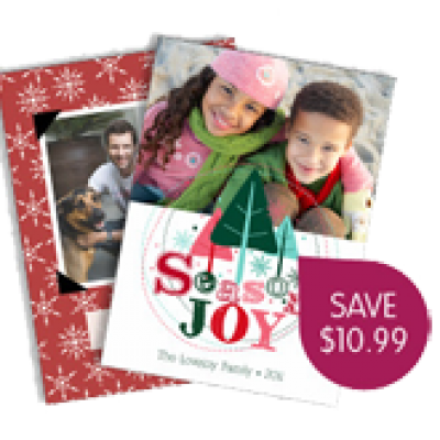 Ink Garden - Save $10.99 on Holiday Cards