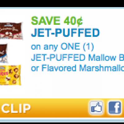 """New"" Jet Puffs Marshmallow Coupon"