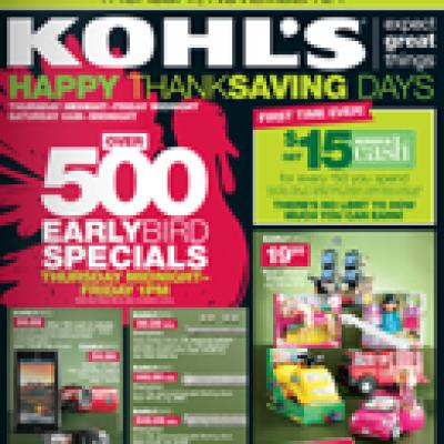 Kohl's Black Friday Deals