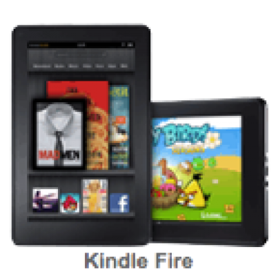 """Amazon: Kindle Fire, Full Color 7"""" Multi-touch Display, Wi-Fi"""
