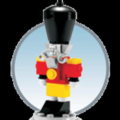 LEGO Nutcracker Free Mini Build