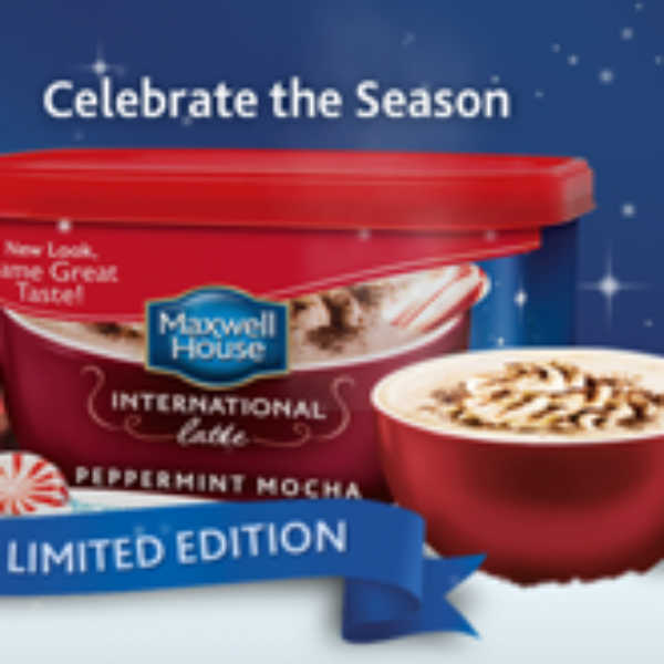 Walmart: Maxwell House Peppermint Mocha Latte Coupon