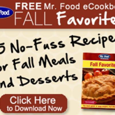 Free Mr. Food eCookbook