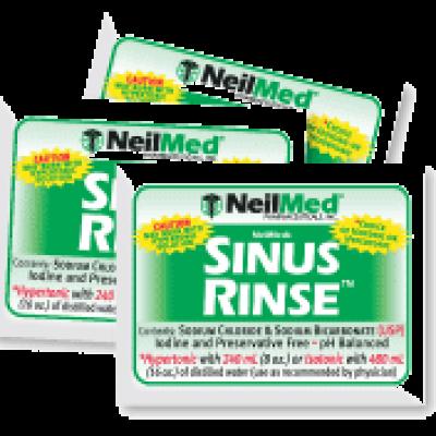 Free Sinus Rinse Samples