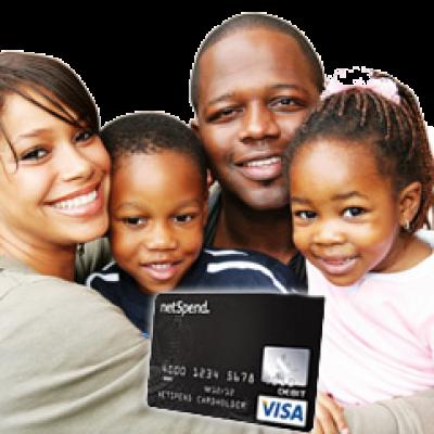 Netspend Visa Card: No Credit Check! No Commitment! No Late Fees!