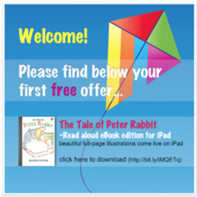 Free 'The Tale Of Peter Rabbit' eBook for iPad/iPhone