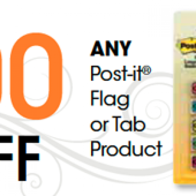 Post-It-Notes Coupon