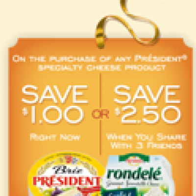President Cheese Coupons