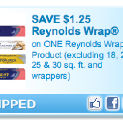 $1.25 Off (1) Reynolds Wrap Coupon