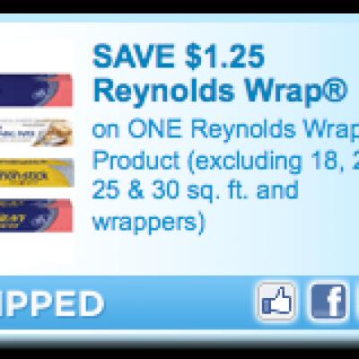 $1.25 Off (1) Reynolds Wrap Coupon