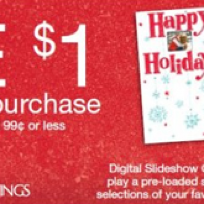 Rite Aid Holiday Card Deal